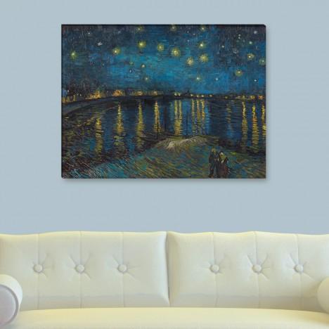 Sternnacht Leinwandbild