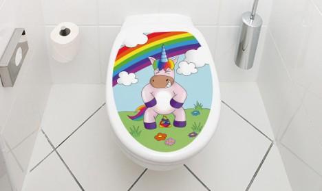 WC Deckel Einhorn