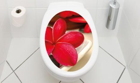 WC Aufkleber Wellness Spa