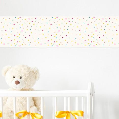 Bordüre Sternchen Kinderzimmer