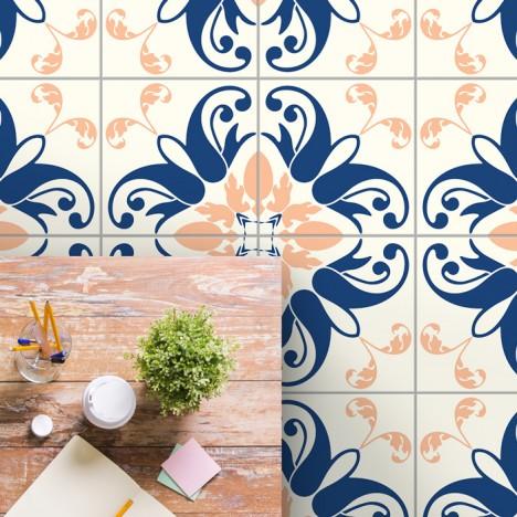 bodenfliesenaufkleber für küche und bad muster tamara