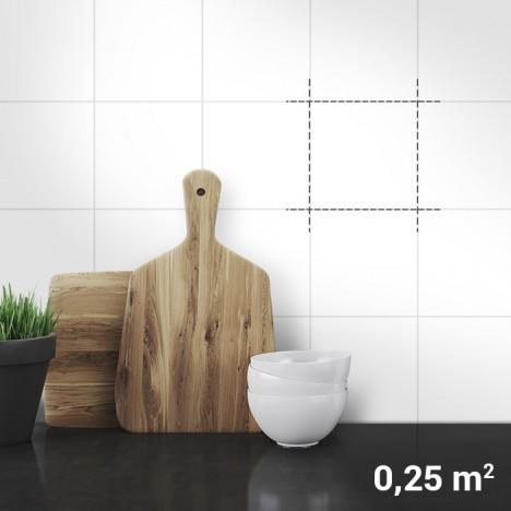 Fliesenaufkleber 0,25qm Küche