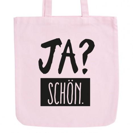 JUNIWORDS Pastell Jutebeutel Ja? Schön.