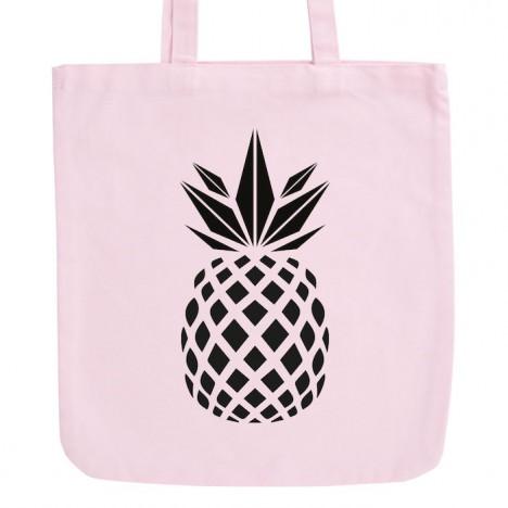 JUNIWORDS Pastell Jutebeutel Ananas