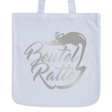 JUNIWORDS Pastell Jutebeutel Beutel-Ratte