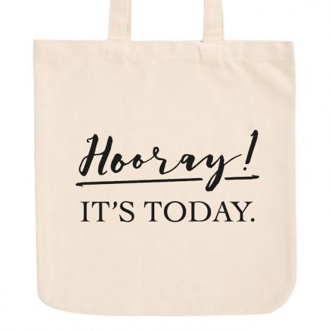 JUNIWORDS Pastell Jutebeutel Hooray! It's today.