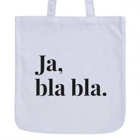 JUNIWORDS Pastell Jutebeutel Ja bla bla