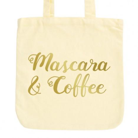 JUNIWORDS Pastell Jutebeutel Mascara & Coffee