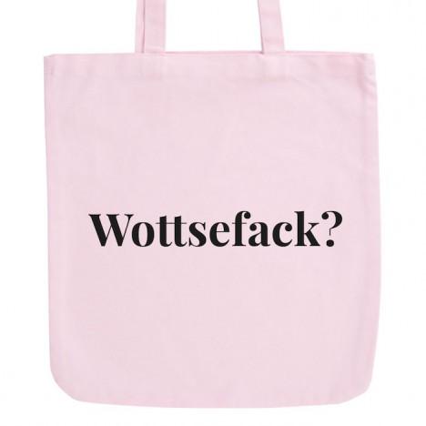 JUNIWORDS Pastell Jutebeutel Wottsefack?