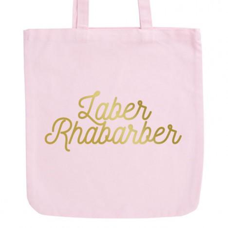 JUNIWORDS Pastell Jutebeutel Laber Rhabarber