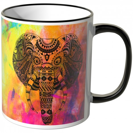 JUNIWORDS Tasse Maori Elefant