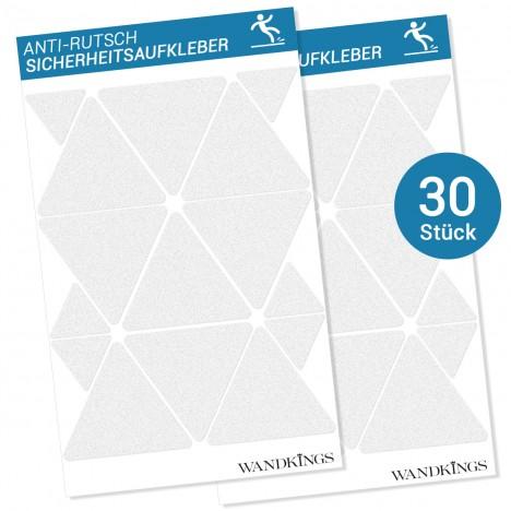 Anti-Rutsch-Sticker Dreiecke, 30 Stück