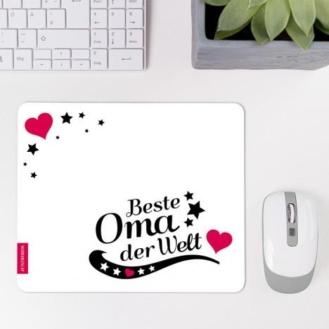 Mousepad Beste Oma - Motiv 8