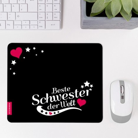 Mousepad Beste Schwester - Motiv 7