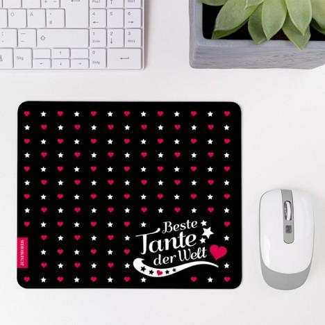 Mousepad Beste Tante - Motiv 1