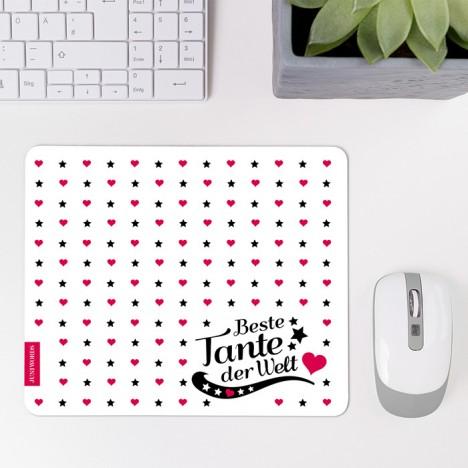 Mousepad Beste Tante - Motiv 2