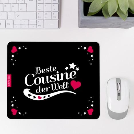 Mousepad Beste Cousine - Motiv 3