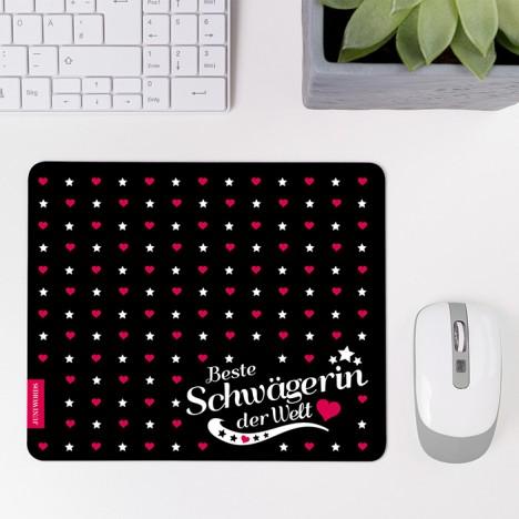 Mousepad Beste Schwägerin - Motiv 1