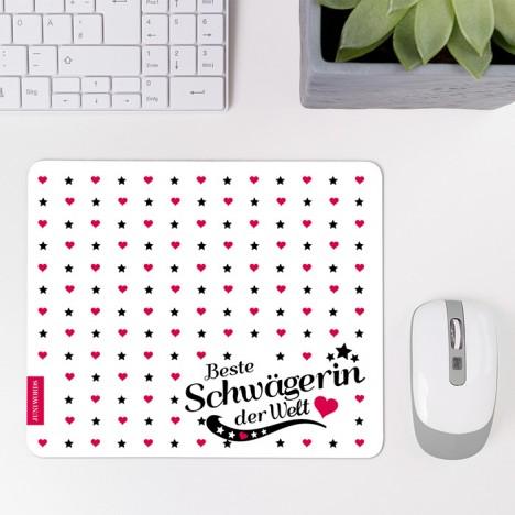 Mousepad Beste Schwägerin - Motiv 2