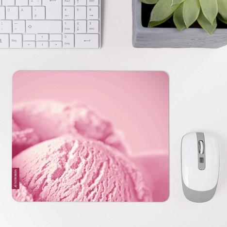 Mousepad Erdbeereis