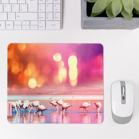 Mousepad Flamingos