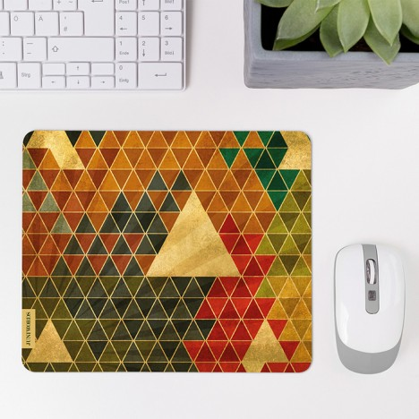 Mousepad Triangle Retro