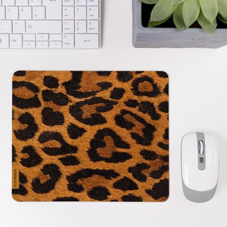 Mousepad Leopardenfell