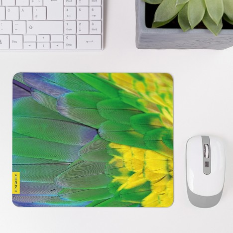 Mousepad Papagei-Gefieder 2