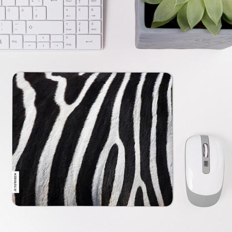 Mousepad Zebrafell