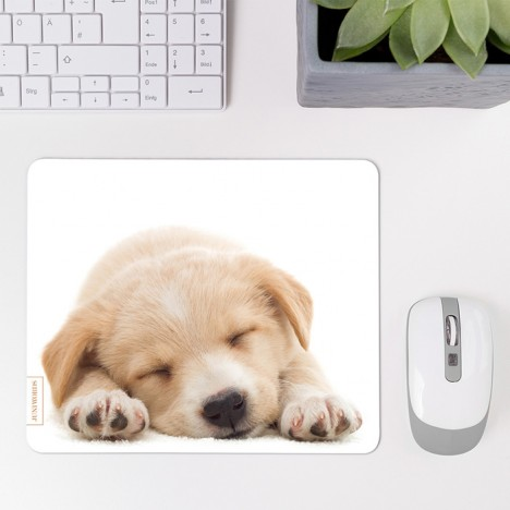 Mousepad Schlafender Welpe