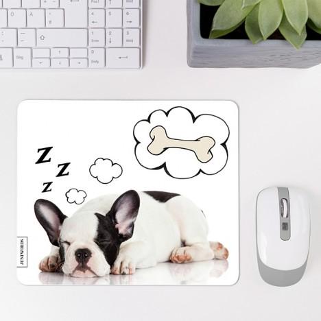 Mousepad Schlafender Hund