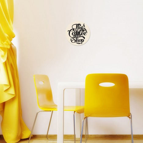 Coffee Shop Uhr