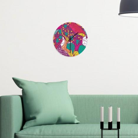 Motiv Wanduhr - Geometrical