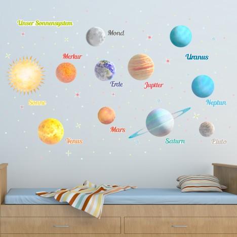 Leucht-Planeten-Set