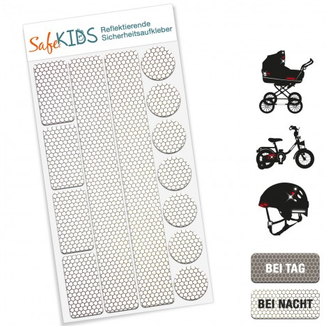 Reflektierende Sicherheitsaufkleber - SafeKIDS