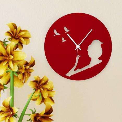 Uhr Vogel