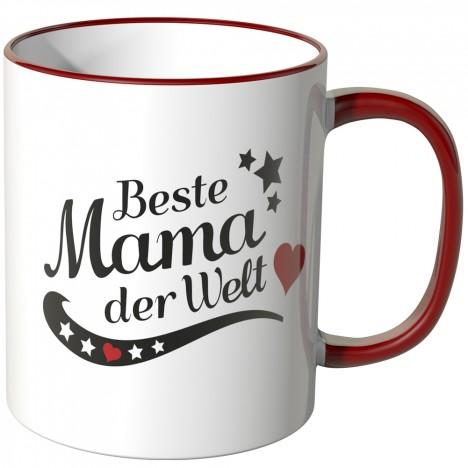 JUNIWORDS Tasse Beste Mama der Welt