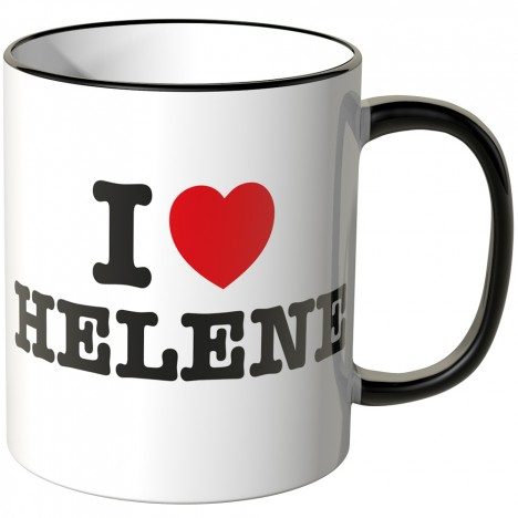 JUNIWORDS Tasse I LOVE HELENE
