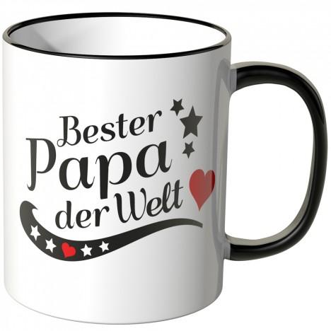 JUNIWORDS Tasse Bester Papa der Welt