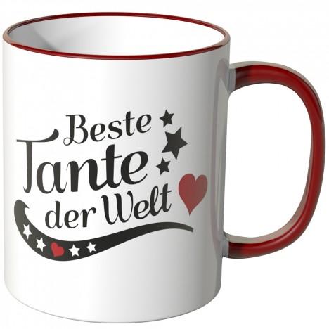 JUNIWORDS Tasse Beste Tante der Welt