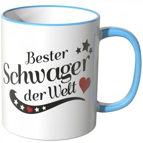 JUNIWORDS Tasse Bester Schwager der Welt
