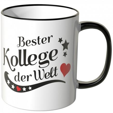 JUNIWORDS Tasse Bester Kollege der Welt