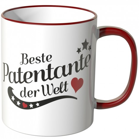 JUNIWORDS Tasse Beste Patentante der Welt