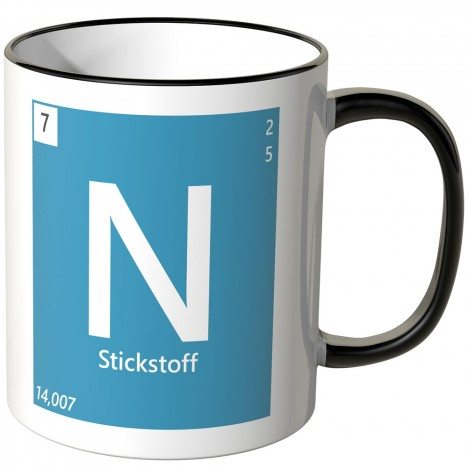 Element Stickstoff Tasse
