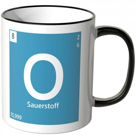 Sauerstoff Element Tasse