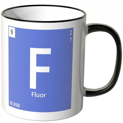 Fluor Element Tasse