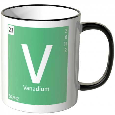 Juniwords Tasse Vanadium V