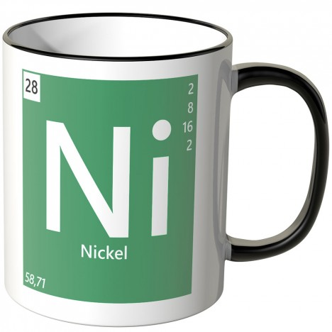 "JUNIWORDS Tasse Element Nickel ""Ni"""