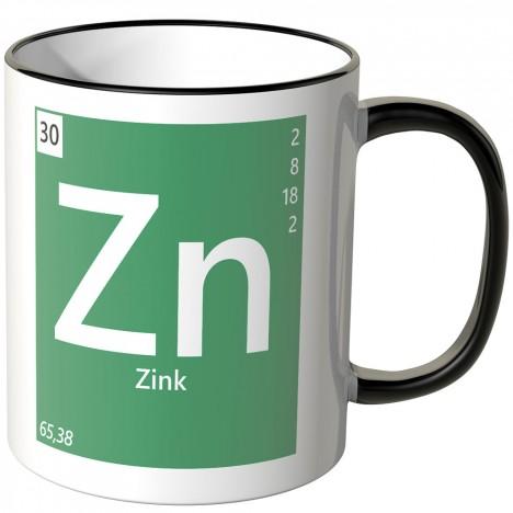 "JUNIWORDS Tasse Element Zink ""Zn"""