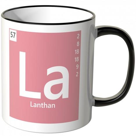 Element Lanthan Tasse